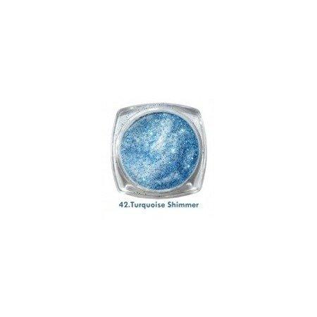 Akryl kolorowy 3,5g, Turquoise Shimmer 42