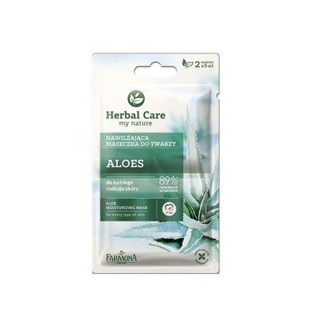 Herbal Care Maseczka nawilżająca ALOES 2x5ml