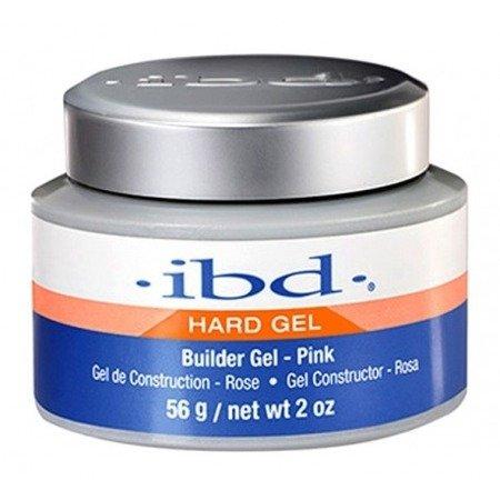 IBD Hard Gel Builder Żel budujący 56 g Pink