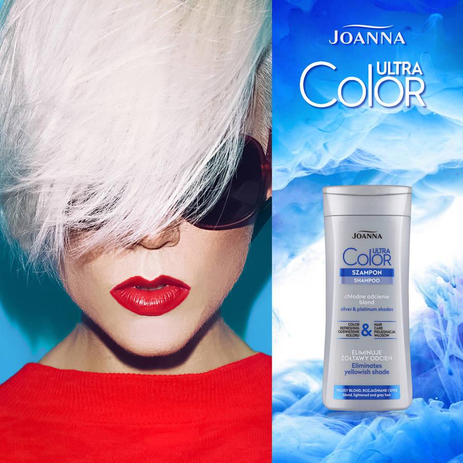Joanna Szampon niebieski do włosów 200 ml