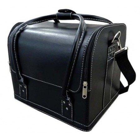 Kufer kosmetyczny z eko skóry