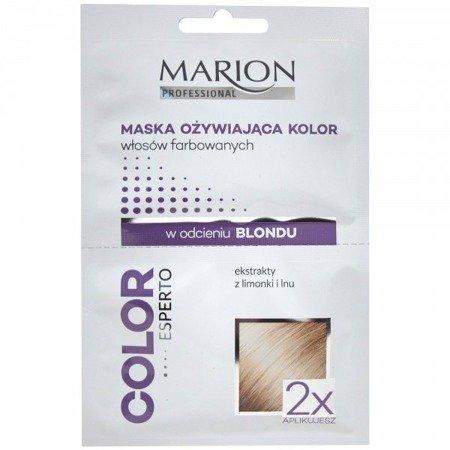 MARION Maska Ożywiająca do blondu 2x20 ml