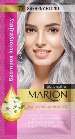 Marion szampon koloryzujący 71 Srebrny blond 40ml