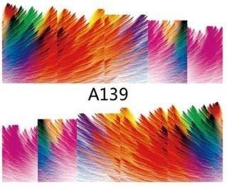 Naklejki wodne A139