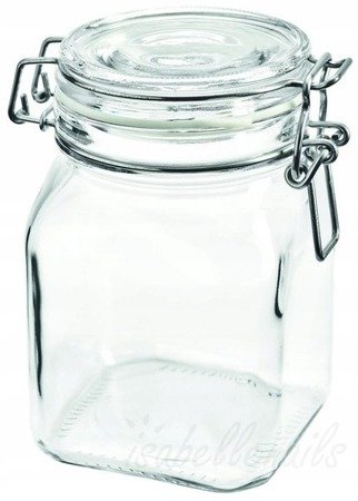 Słoik szklany wek z klipsem 750 ml