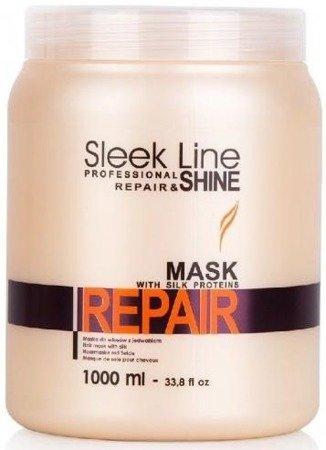 Stapiz Repair Zestaw Szampon 1000 ml + Maska 1000 ml + Jedwab 30 ml
