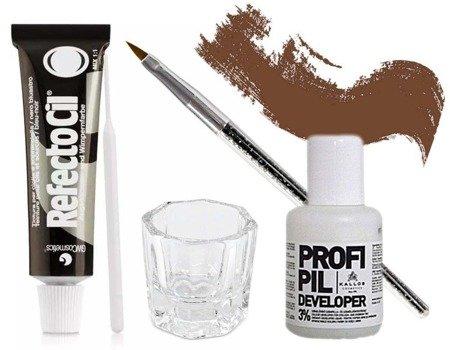 Zestaw henna Refectocil + woda Profi Pil